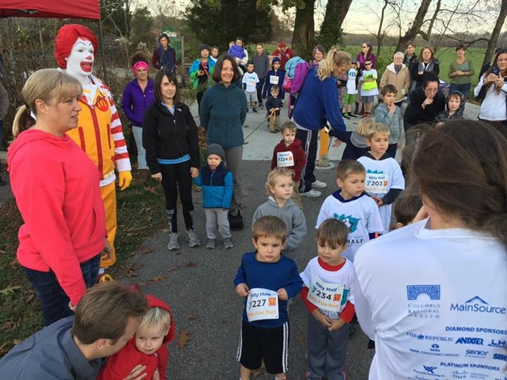 Hilly Half Kids Run