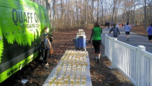 Quaff On! Beer Mile